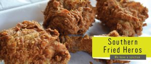 The Flavour Lab - Southern Fried Heroes Banner