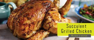 The Flavour Lab - Succulent Grilled Chicken Banner